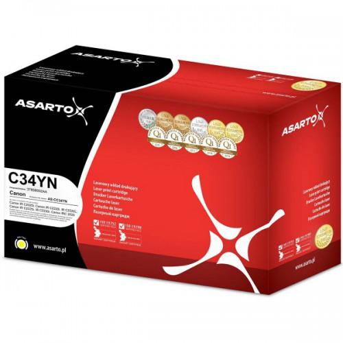 Toner Asarto do Canon C-EXV34   C34YN   3785B002   19000 str.   yellow