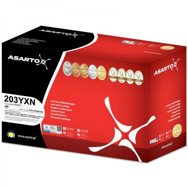 Toner Asarto do HP 203YXN | CF542X | 2500 str. | yellow